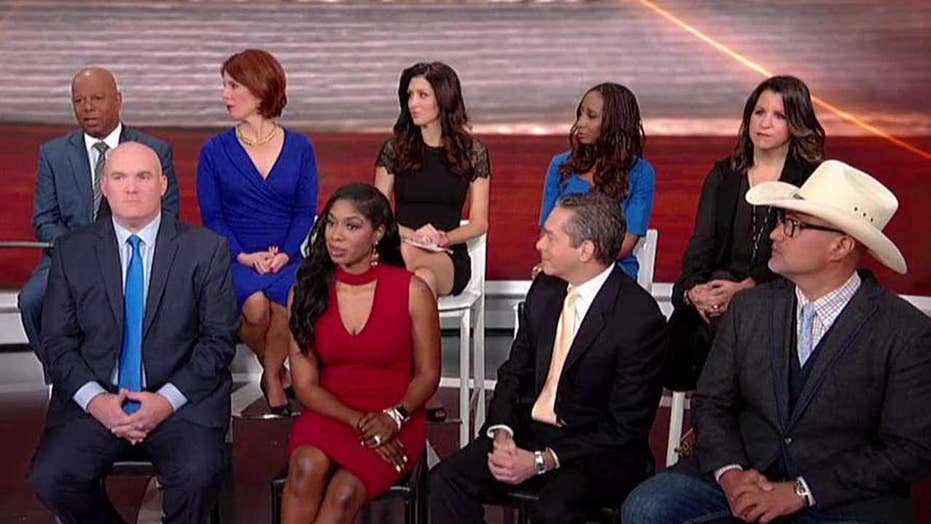 Town hall panel speaks out on President Trump's performance
