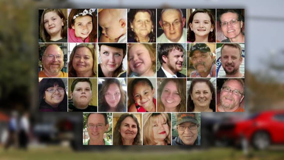 Texas church shooting victims identified