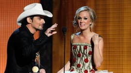 CMA Awards' jaw-dropping moments, from Miranda Lambert's eye roll to Reba McEntire's plunging red dress