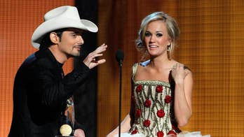 Cassadee Pope teases Carrie Underwood, Brad Paisley 'might cross some boundaries' at CMA Awards despite promising no politics