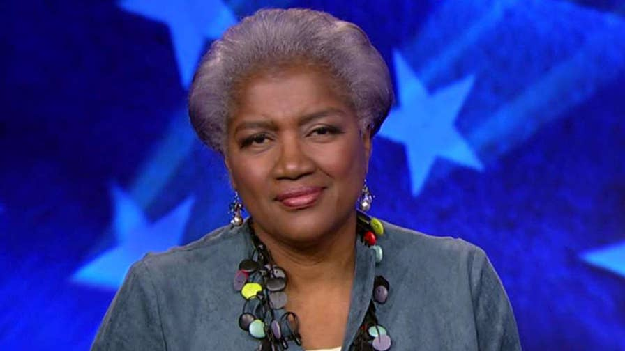 Former interim chair for the DNC Donna Brazile says the Hillary Clinton presidential campaign team was focused on 'algorithms' and 'data modeling,' not knocking on doors to win voters' support.
