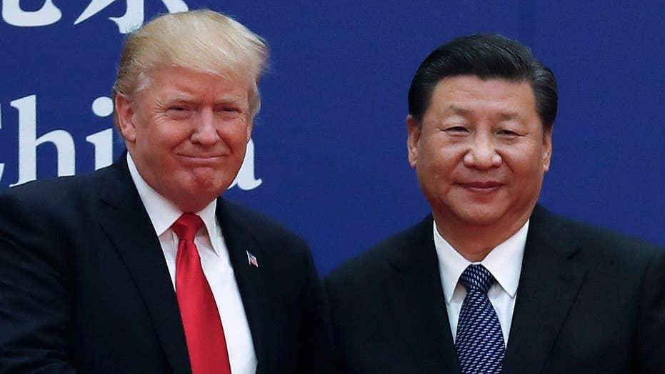 Trump talks trade, North Korea during China visit
