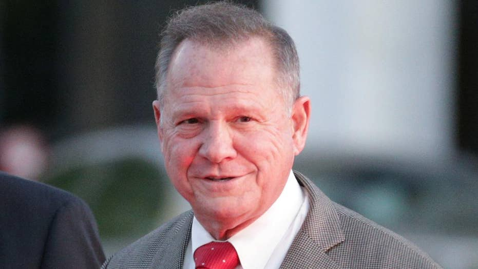 Roy Moore slams Washington Post report as 'fake news'