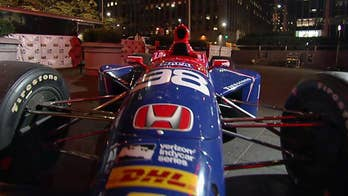 Marissa Andretti and David Tilton show off 1.5M sports car on 'Fox & Friends First.'