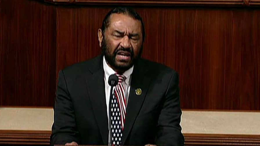 Columnist Mark Steyn sounds off on the latest attack from Rep. Al Green.
