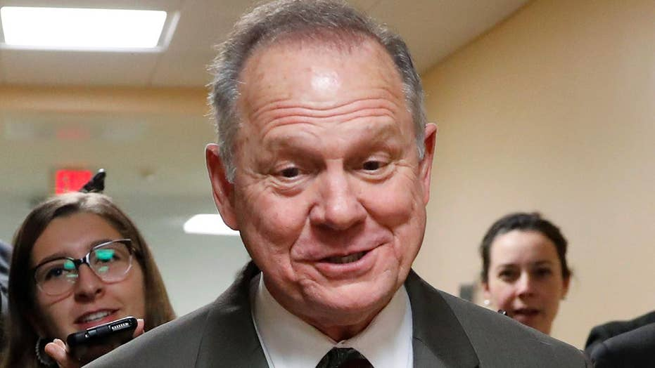 Judge Roy Moore shows no signs of backing down