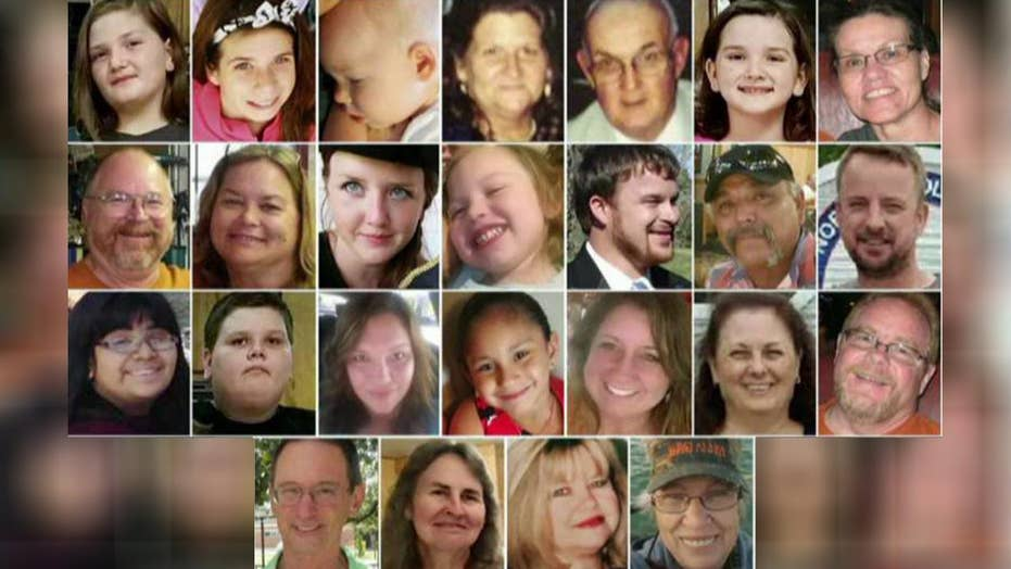 Church shooting victims with military backgrounds honored