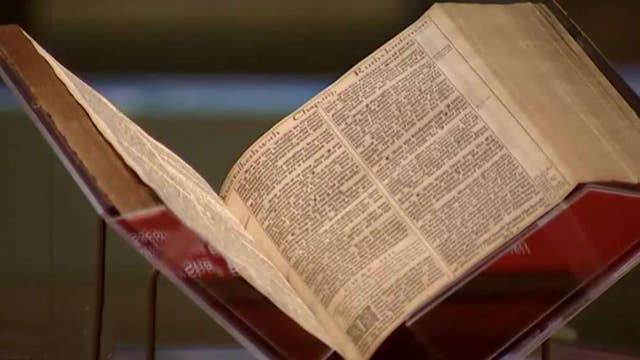 Inside look at the Museum of the Bible