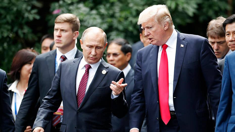 Trump says he asked Putin about election meddling