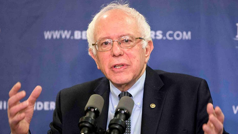 Eric Shawn reports: Sen. Bernie Sanders' call to Democrats
