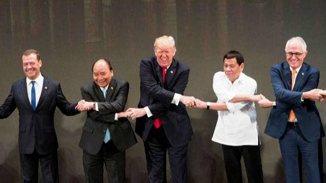 Huckabee on media's 'hit job' against Trump's Asia trip