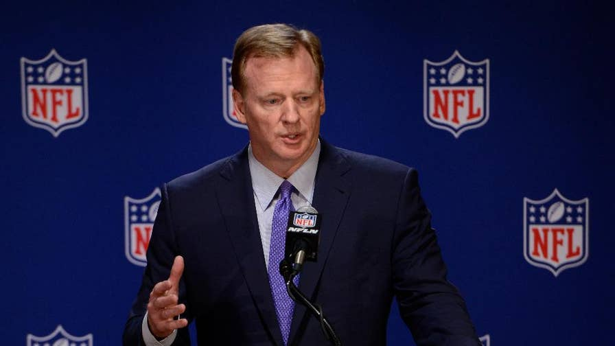 The NFL's commissioner, Roger Goodell's contract is up for renewal.  Dallas Cowboys' owner Jerry Jones is on the offensive and threatening to sue the league.  Here's why and where the feud stems from.