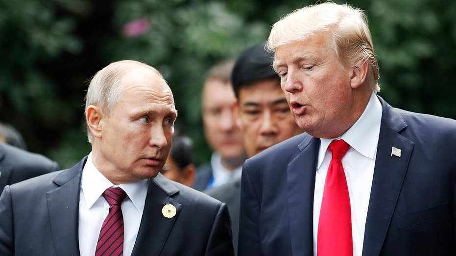 Eric Shawn reports: President Trump vs. Putin