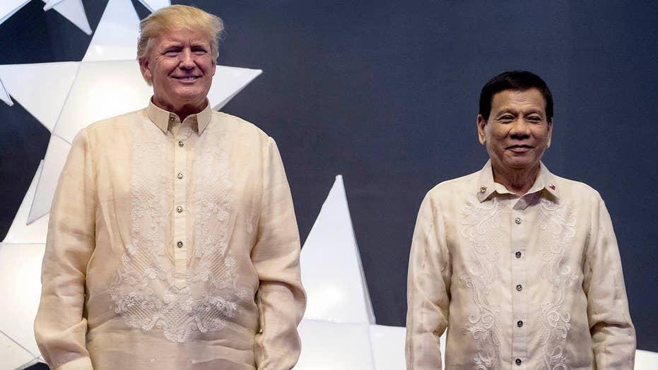 Trump, Duterte hold first formal sit-down