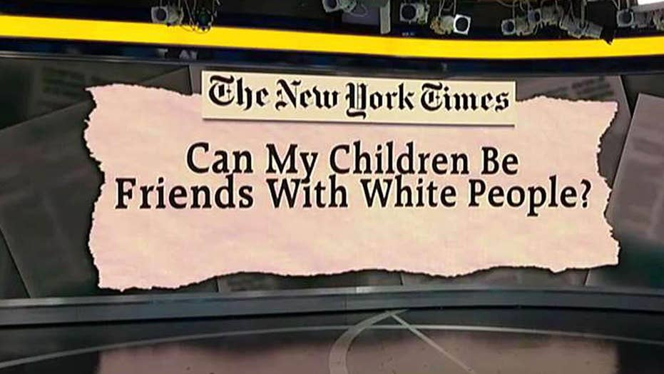 Op-ed asks if kids can befriend white people under Trump