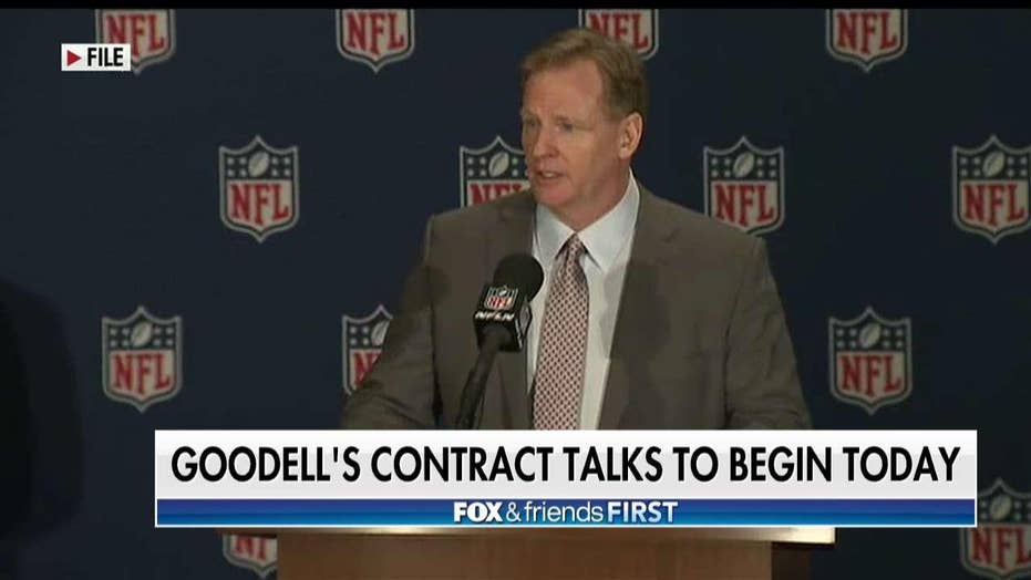 Report: Roger Goodell Wants Nearly $50 Million Yearly & Lifetime Use of a Private Jet