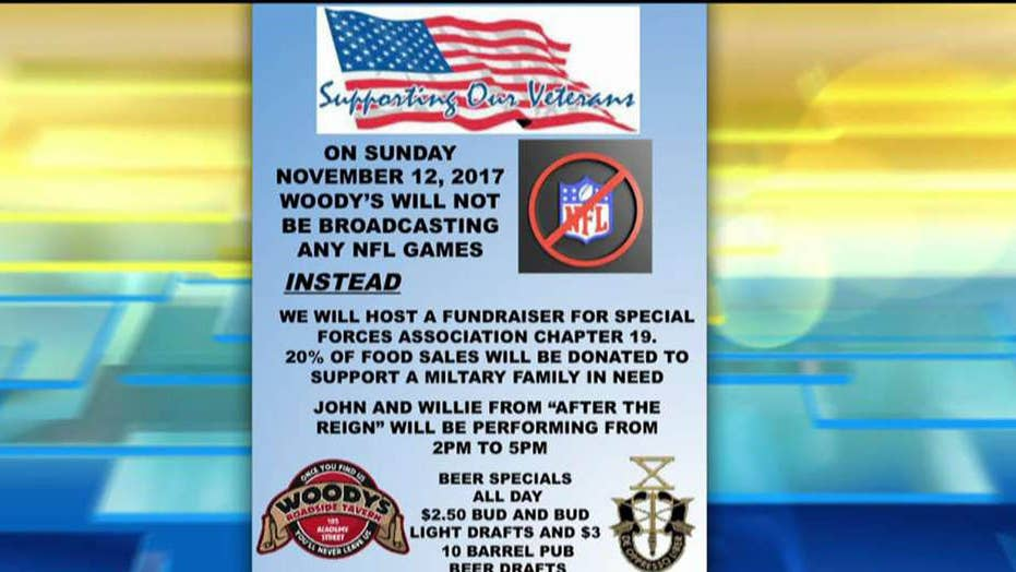 NJ bar boycotts NFL, holds fundraiser for veterans instead