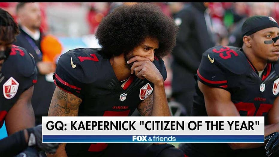 Colin Kaepernick named GQ citizen of the year.