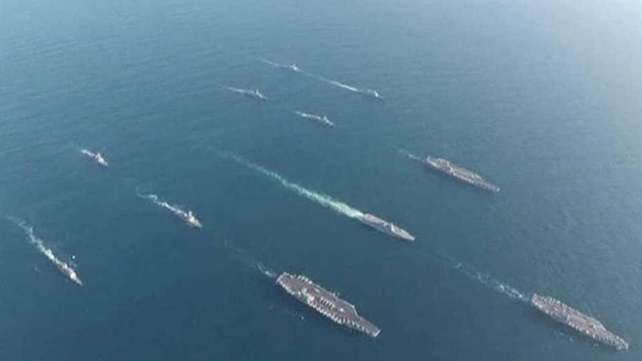 3 US Navy aircraft carriers operate off Korean Peninsula | Fox News