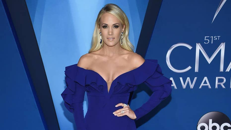Carrie Underwood hospitalized after fall outside home