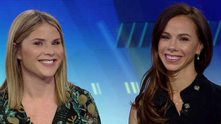 Bush twins Jenna and Barbara on new book 'Sisters First'