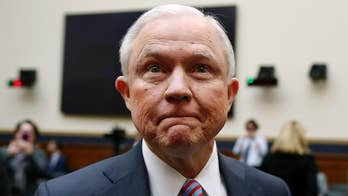 Democratic senators focus on Attorney General Jeff Sessions' statements about his interactions with Russian nationals during presidential campaign; insight from Politico's Alex Isenstadt.