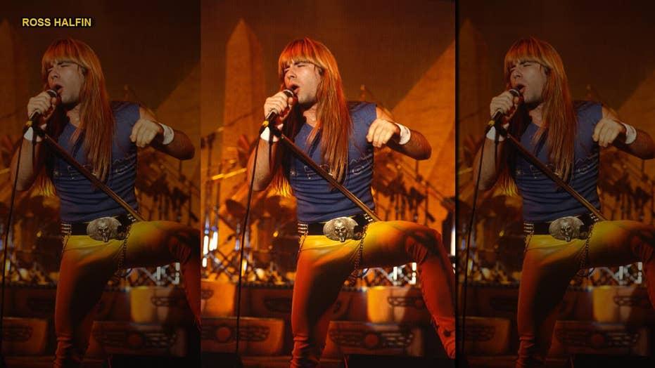 Iron Maiden's Bruce Dickinson recalls meeting Johnny Cash