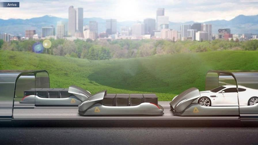 Company plans to build 200 mph Hyperloop-like test track along E-470 in Commerce City.