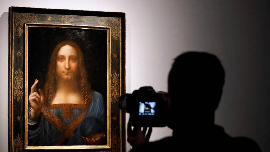 "Abandoned and thought to be a fake for years, Leonardo's Da Vinci's masterpiece, ""Salvator Mundi"" hits Christie's auction block and is expected to sell for at least $100 million."