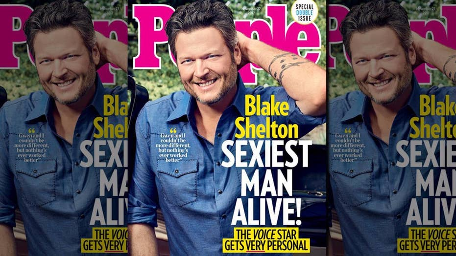 Blake Shelton's 'Sexiest Man Alive' title angers some fans