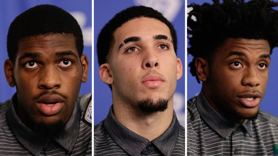 UCLA players thank President Trump for 'helping us out'