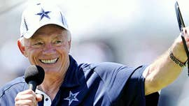A summary of the feud between Dallas Cowboys owner Jerry Jones and NFL Commissioner Roger Goodell.