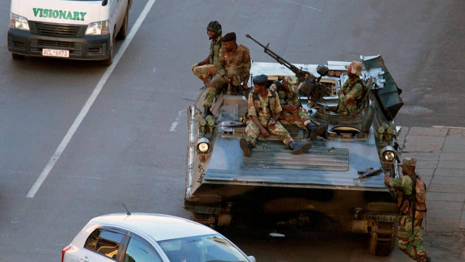 Zimbabwe's future uncertain after military takes over