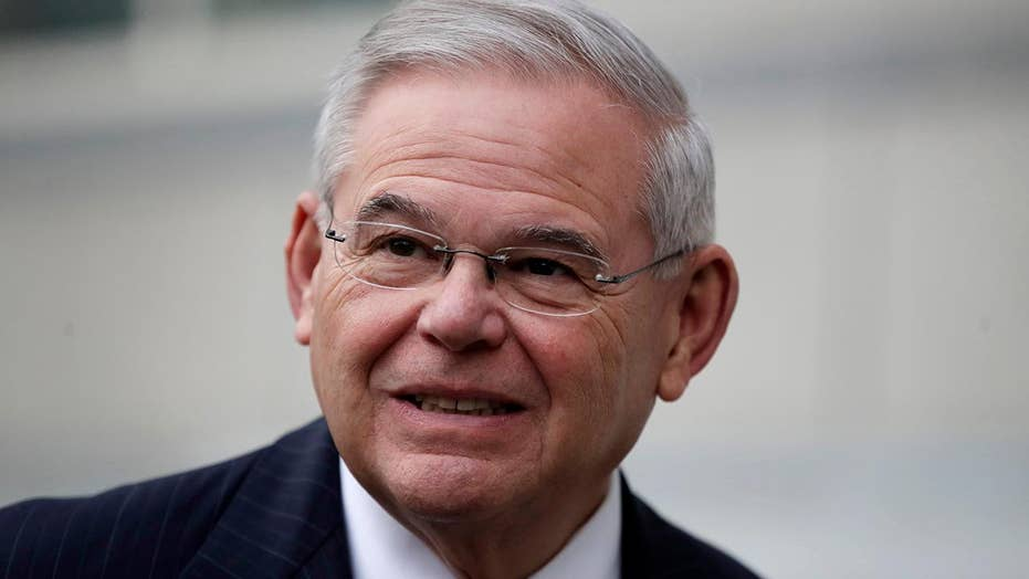 Judge declares mistrial in Sen. Menendez bribery trial