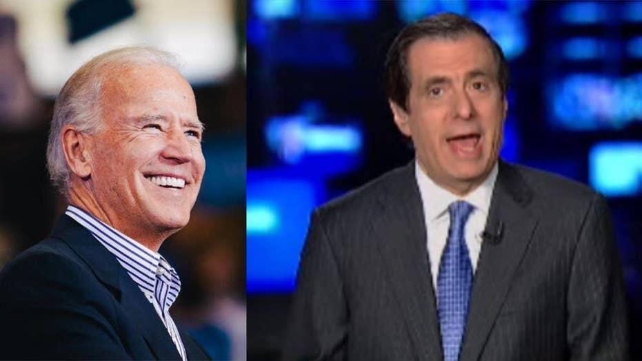 Kurtz: Could Biden's Hands-On Style Hurt Him?