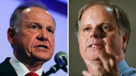 Alabama Democratic Senate nominee Doug Jones is surging in the polls as embattled Republican Roy Moore fights back allegations he pursued romantic relationships with teenage girls in his thirties.