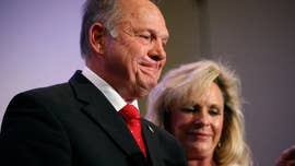 Roy Moore on Saturday fought back against lawyer Gloria Allred for her refusing to release a high-school year book that she say is evidence in the sexual-misconduct allegations that threaten to derail Moore's bid for an Alabama Senate seat.