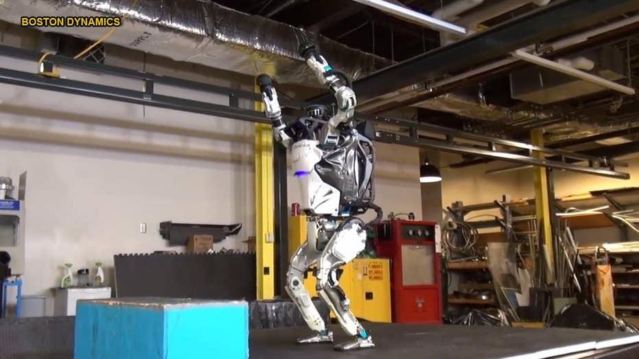 Creepy humanoid robots can now do back-flips