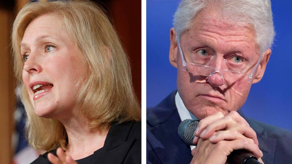 Gillibrand says Clinton should have resigned after Lewinsky