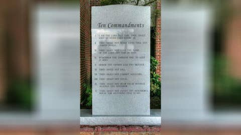 Texas mall opens with large Ten Commandments statue inside