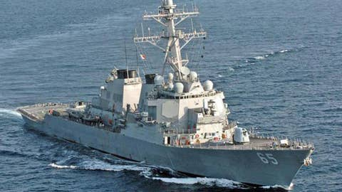 Japanese tug collides with US Navy destroyer near Japan