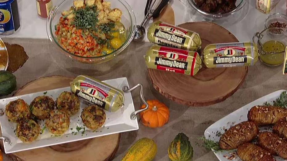 Chef George Duran puts a twist on Thanksgiving classics
