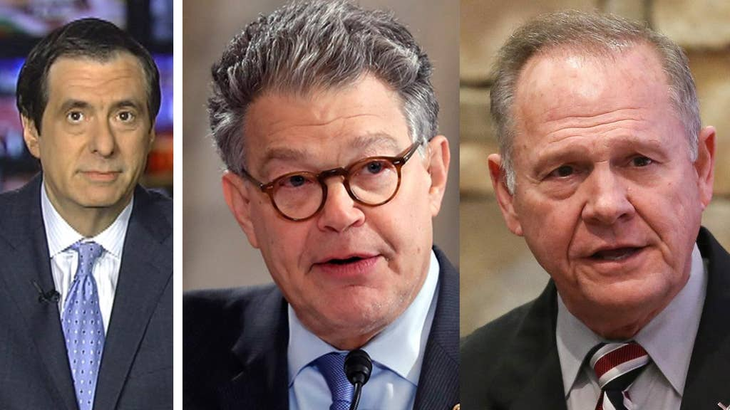 Charlie Rose, Al Franken and Roy Moore: The harassment allegations continue