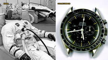 Astronaut Donn Eisele's Omega Speedmaster Professional chronograph, which he was issued to wear on board the Apollo 7 mission, has been recovered by the Smithsonian after being stolen in 1989.