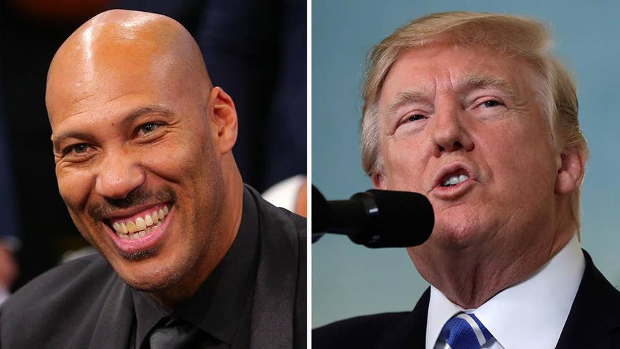 President says he should have left players in jail after LaVar Ball downplays Trump's involvement in China release; Kristin Fisher reports from the White House.
