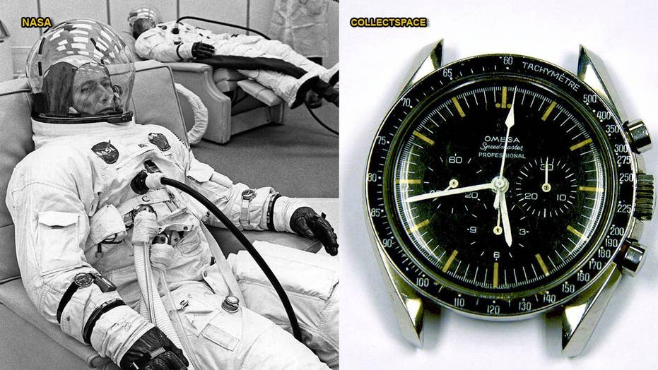 Apollo astronaut watch recovered 30 years after being stolen