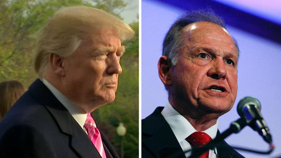 Trump on Roy Moore: We don't need a Democrat like Jones