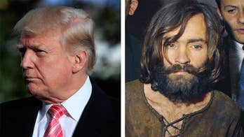 Magazine examines how both used language to gain followers, but is the comparison of a sitting U.S. president to a murderous cult leader cross the line? #Tucker