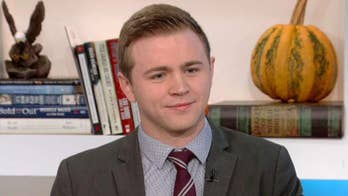 On 'Fox & Friends,' Mason Wells opens up on the message in his new book 'Left Standing.'