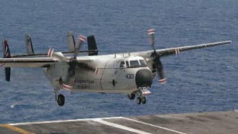 A transport aircraft taking passengers and cargo to an American naval vessel went down; Lucas Tomlinson has the details for 'Special Report.'